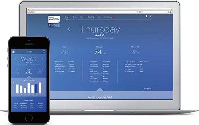 Philips-sleep-apnea-dream-mapper-app